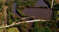 Waterford Iron Bridge, Sept 2010 flood