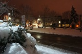 Downtown Northfield at night, December 2011