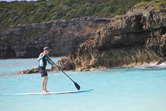 Griff, SUP'ing in Vieques