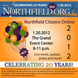 NCO/Northfield.org birthday bash poster