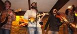 Aaron Hagenson, Vocals & Guitar; Jake Stroup, Vocals & Mandolin; Aaron Cross, Fiddle & Vocals; Carl Haskins, String Bass