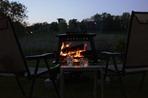 Outdoor fire pit, Hidden Valley Park