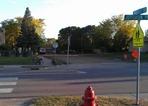 Roosevelt Drive's new sidewalk
