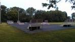 skate park equipment in Riverside Park