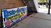 Taste of Northfield 2012 banner