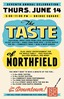 Taste of Northfield 2012 poster