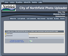 City of Northfield photo uploader