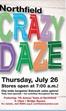 Crazy Daze Northfield 2012