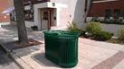 recycling/trash bins in downtown Northfield