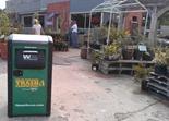 BigBelly solar powered trash compactor