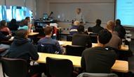 Griff Wigley speaking to Neil Lutsky's Psych class
