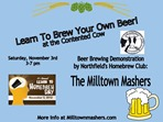 Learn to Homebrew Day, Milltown Mashers