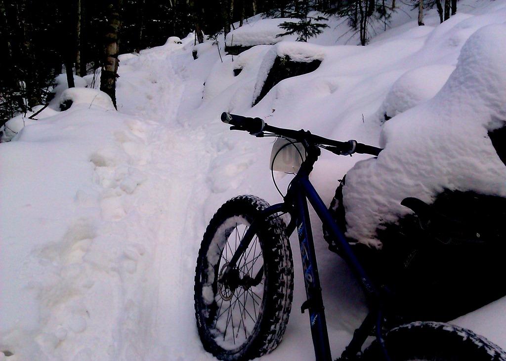 Winter mountain biking in Minnesota  locations 5a86263df