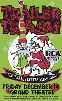 Trailer Trash 2012 xmas poster