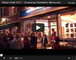 Winter Walk 2012 videos by Glenn and Paul