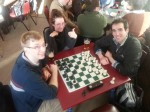 Chess tournament at the Cow, Sat. May 11