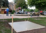Three game tables soon to be installed on Bridge Square