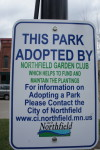 Bridge Square Northfield Adopt-a-Park, Northfield Garden Club