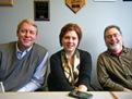 Rick Estenson, Tracy Davis, Ross Currier
